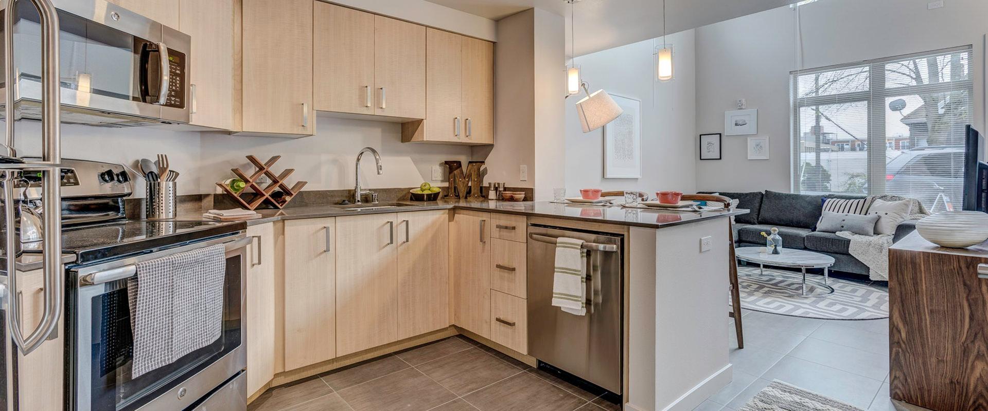 Latitude Queen Anne kitchen
