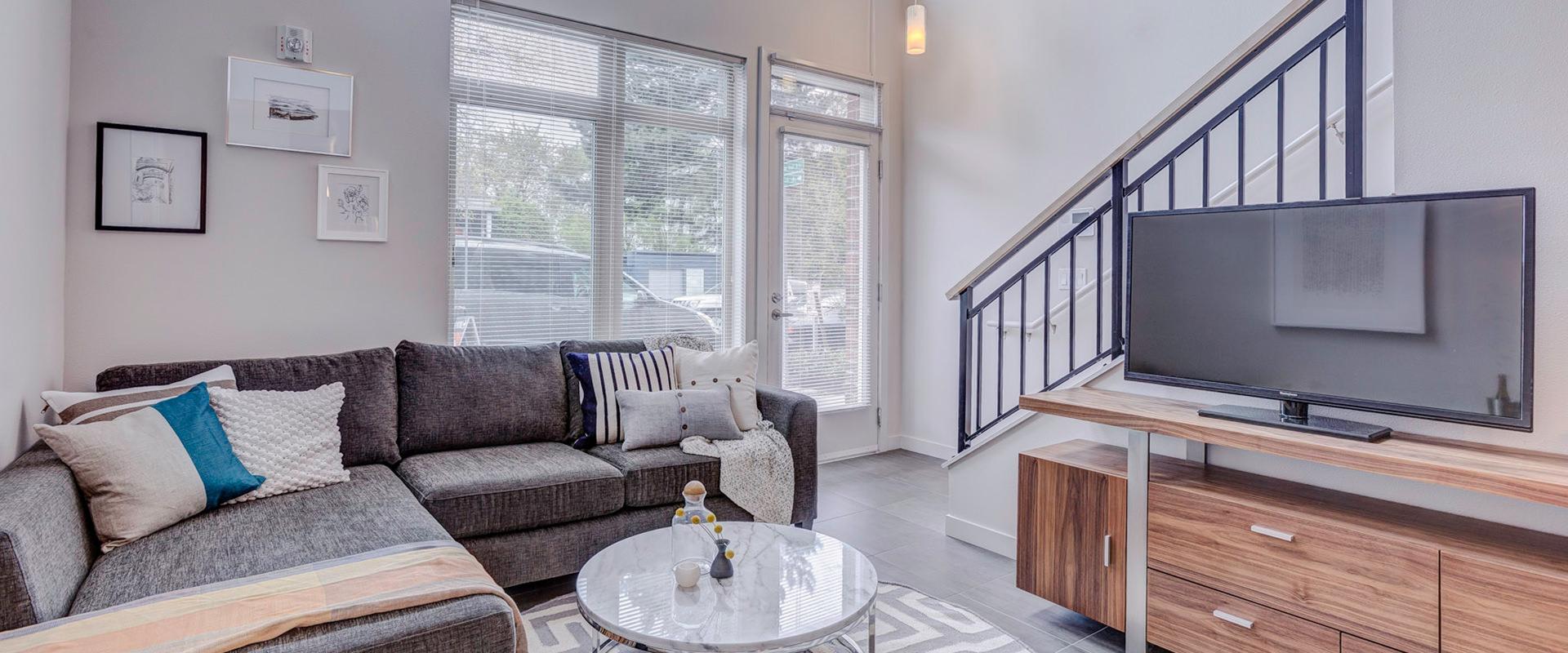 Latitude loft living room